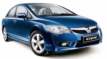 rent Honda Civic 4D